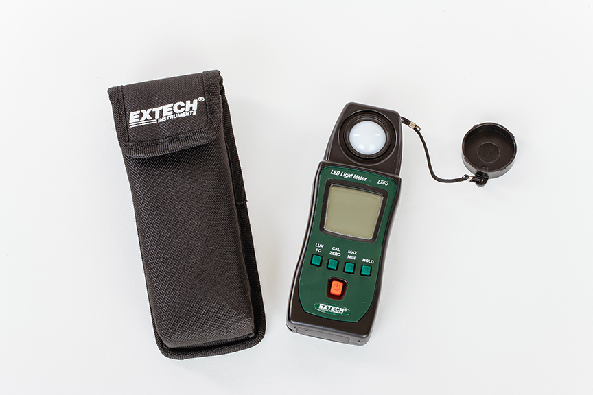 LED Light meter 1